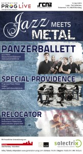 Plakat Online Jazz meets Metal_600px